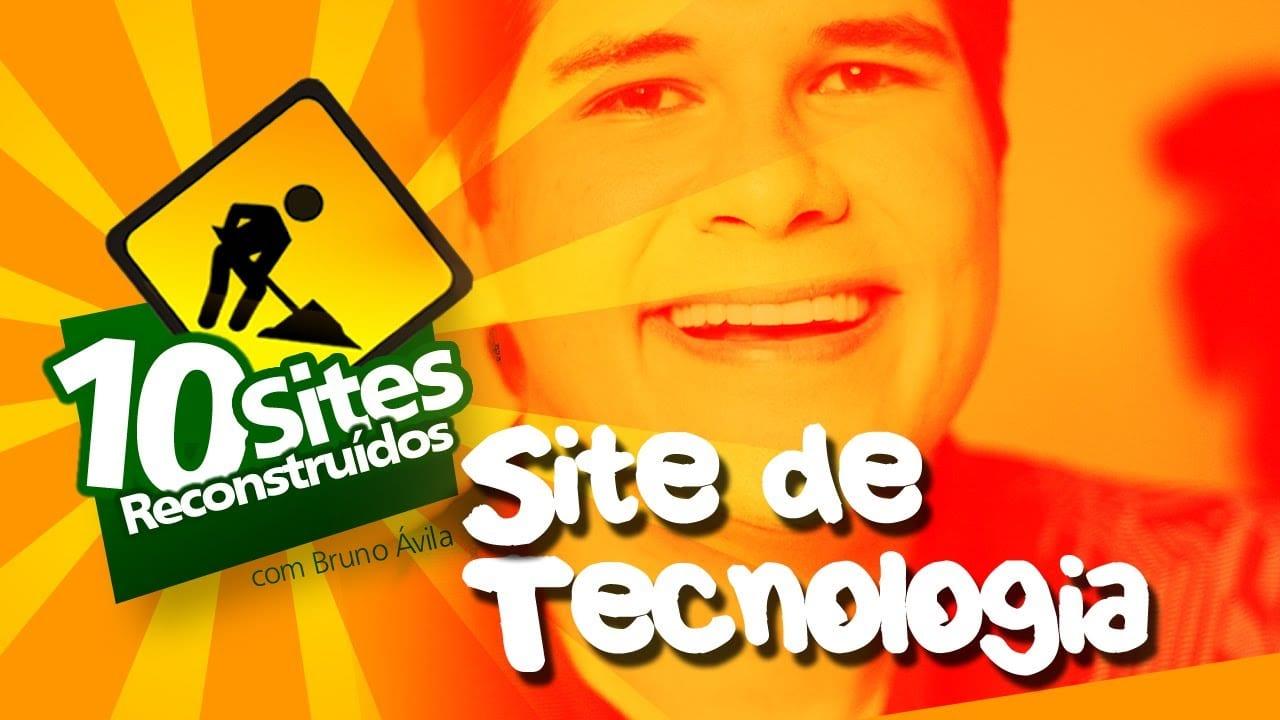 10 Sites Reconstruídos – Site de Tecnologia
