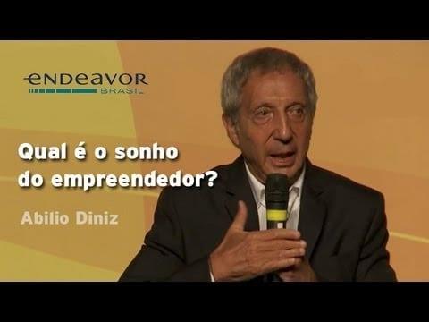 Abilio Diniz: O que sonha um empreendedor? | CEO Summit – Endeavor Brasil
