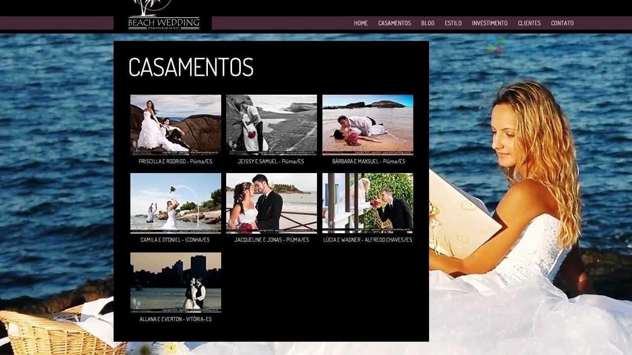 #analisemeusite – Beach Wedding