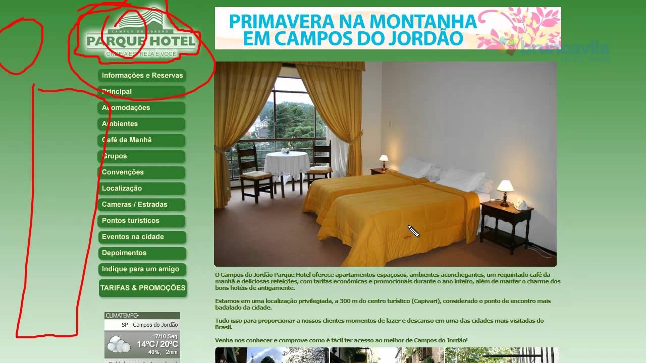#analisemeusite –  Campos do Jordão Parque Hotel